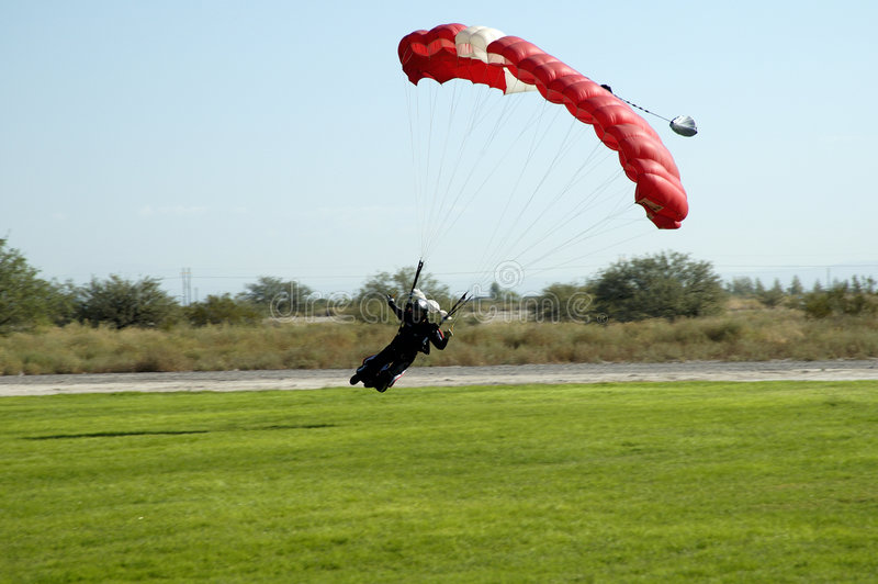 Skydive 1 fotografia de stock royalty free