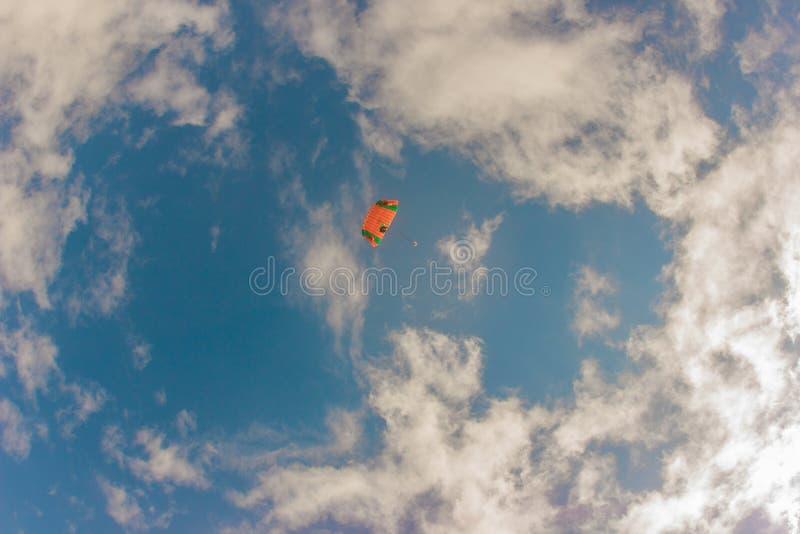 skydive imagens de stock royalty free