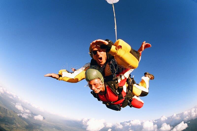 skydive στοκ εικόνα