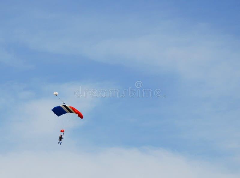 Skydive foto de stock royalty free