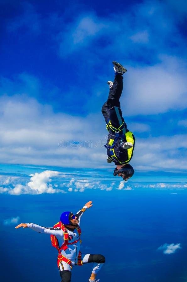 Skydive 3 imagens de stock