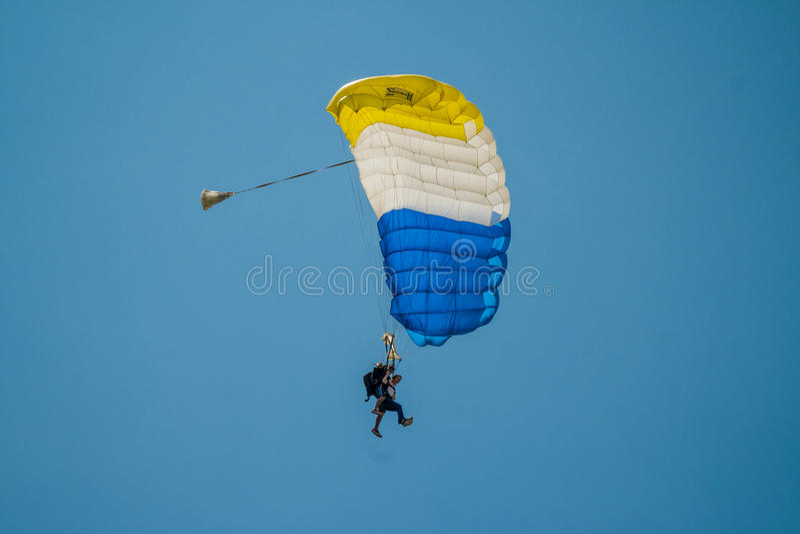 skydive foto de stock