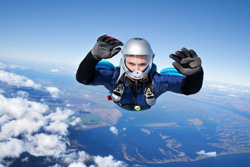 skydiver стоковая фотография
