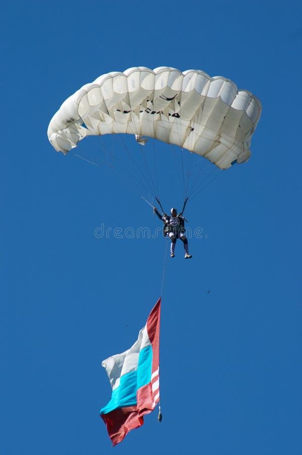 Skydiver lizenzfreie stockfotos