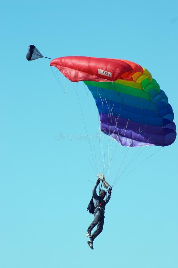 Skydiver stockfotografie