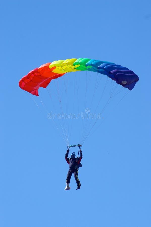 Skydiver royalty-vrije stock fotografie