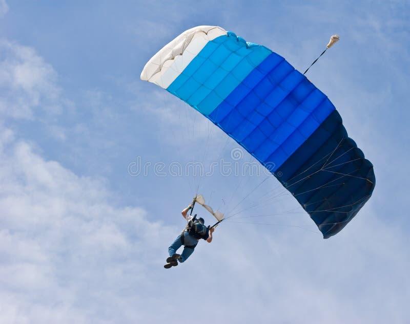 Skydiver fotos de archivo libres de regalías