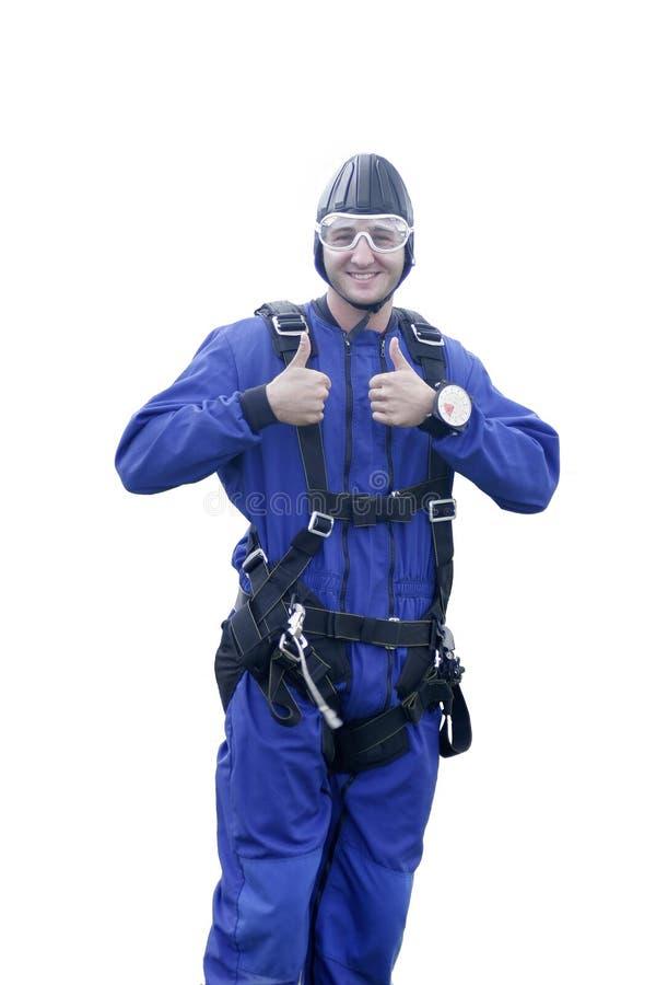 skydiver стоковое изображение rf