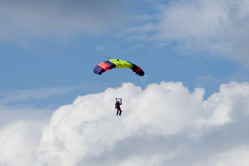 Skydiver stock photos