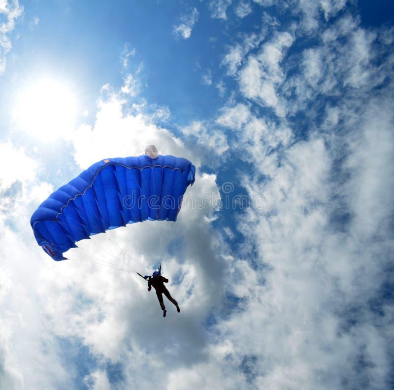 skydiver immagine stock