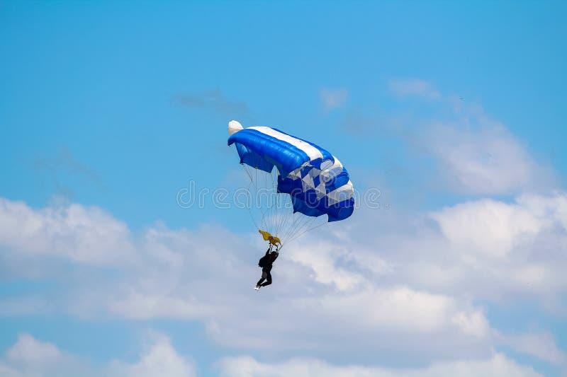 skydiver imágenes de archivo libres de regalías