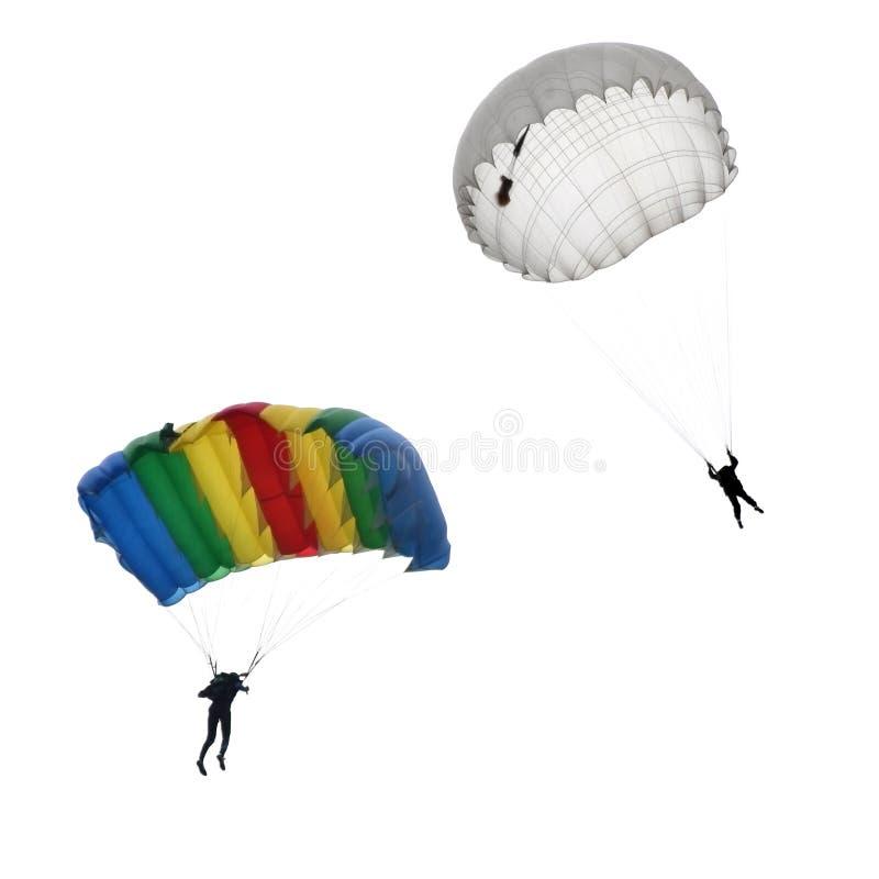 skydivers стоковая фотография