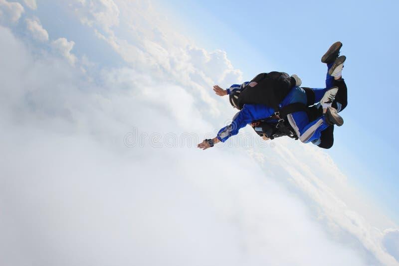 skydiving stock foto