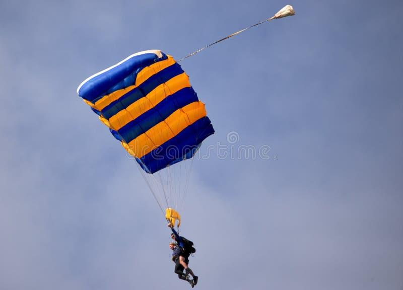 skydiving fotografering för bildbyråer