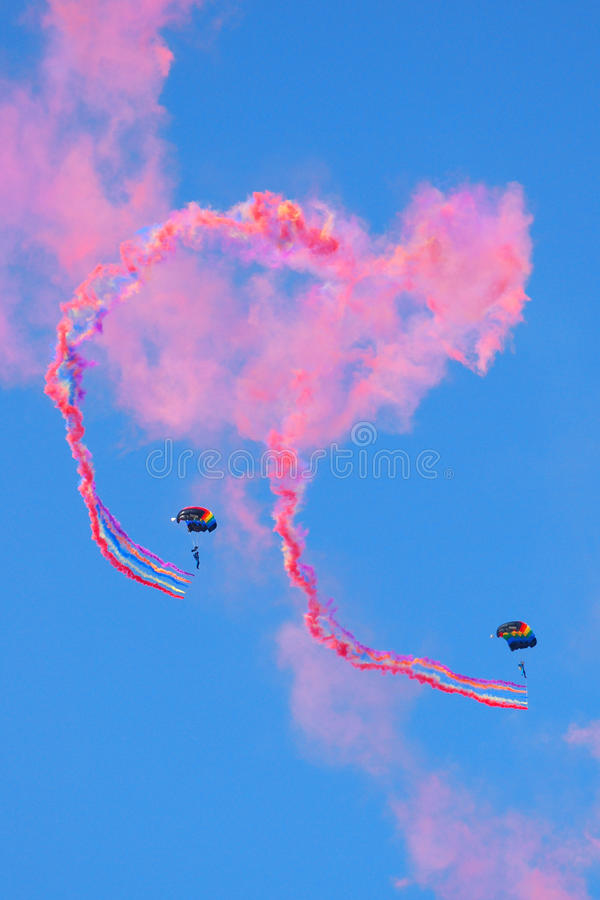 Download Skydiving editorial photography. Image of chinese, chute - 12636852