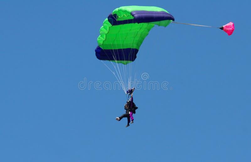 Skydiving fotografie stock libere da diritti