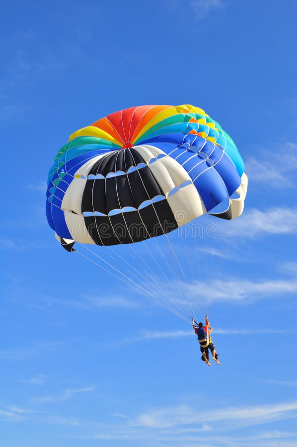 skydiving fotografia de stock