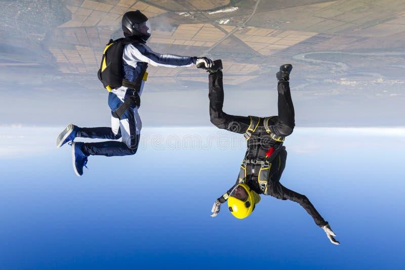 Skydiving Foto lizenzfreie stockfotos