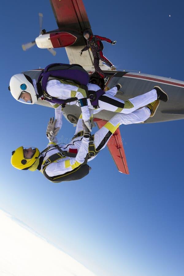 Skydiving Foto stockbild