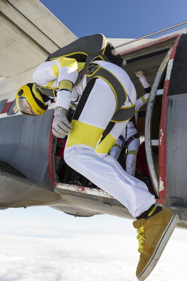 Skydiving Foto lizenzfreies stockfoto