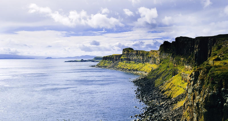Download Skye stock image. Image of hills, countryside, cliffs - 22599177