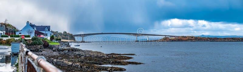 Skye Bridge - île de Skye, Ecosse photo libre de droits