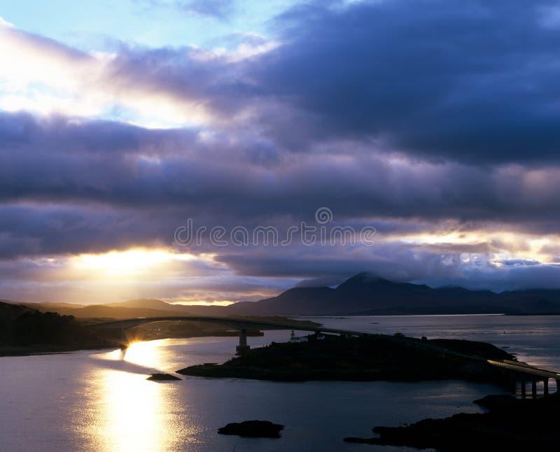 Skye Bridge Scotland. royalty free stock images