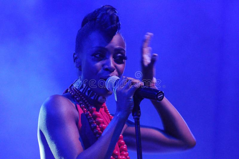 Skye Edwards - Morcheeba lizenzfreie stockfotos