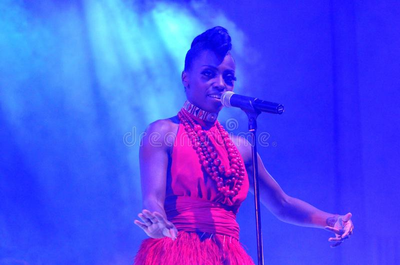Skye Edwards - Morcheeba lizenzfreie stockbilder