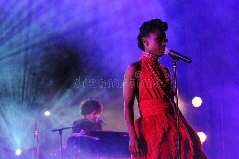 Skye Edwards - Morcheeba stockbilder