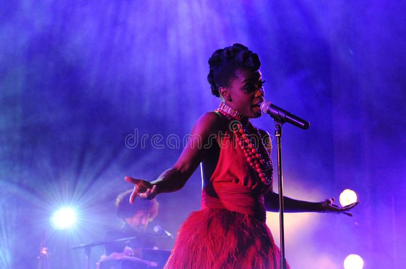 Skye Edwards - Morcheeba stockbild