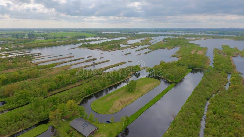 Skyfoto Ankeveen fotografering för bildbyråer