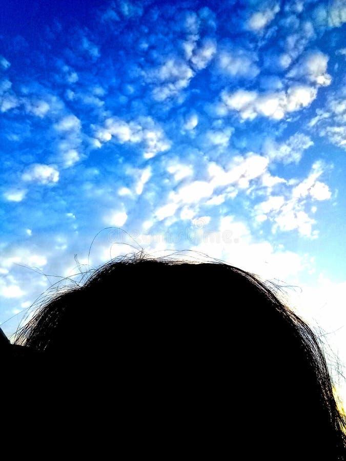 Skyhead imagem de stock