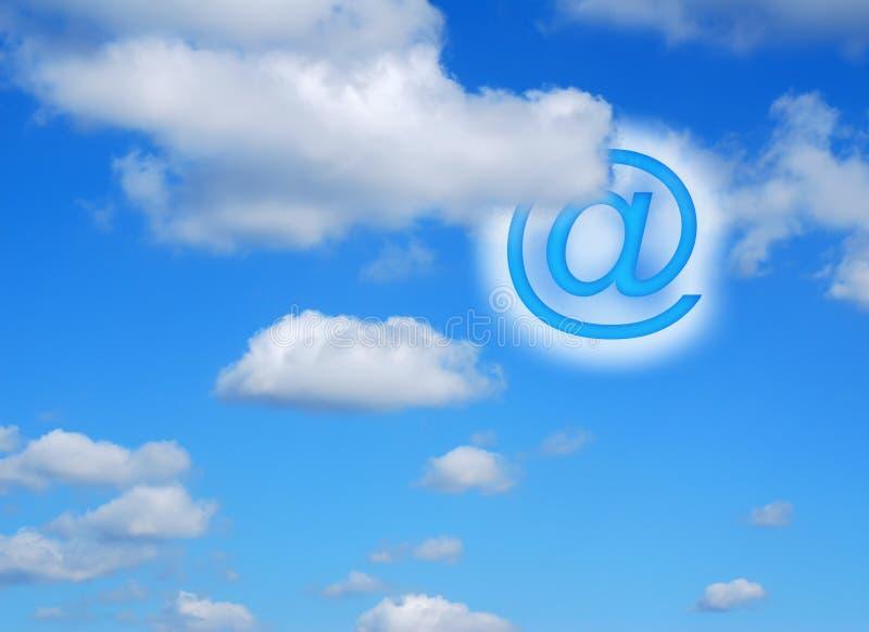 Skyhigh Kommunikationen lizenzfreie abbildung
