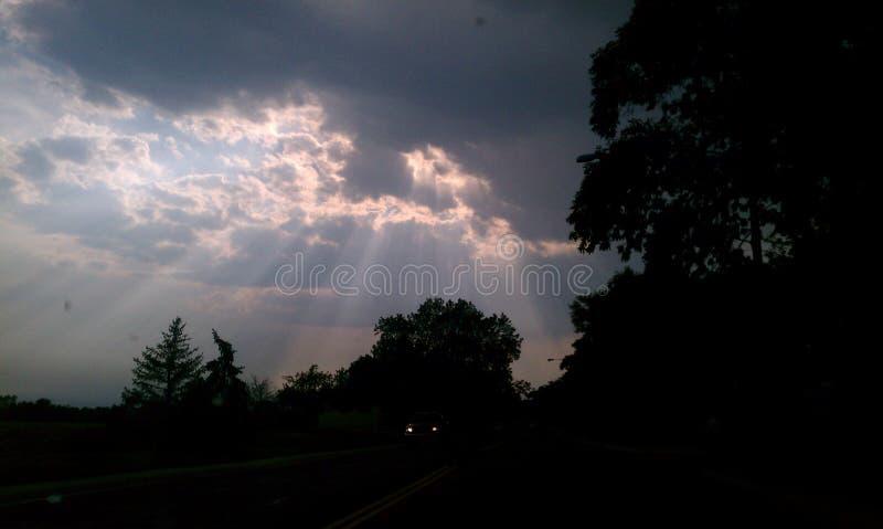 skylight stock afbeelding