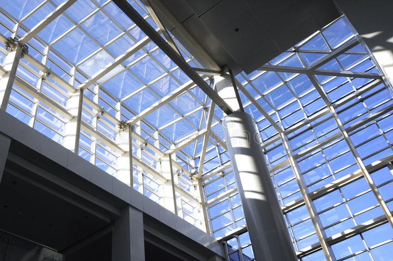 Download Skylight stock photo. Image of grid, structure, interior - 7071660