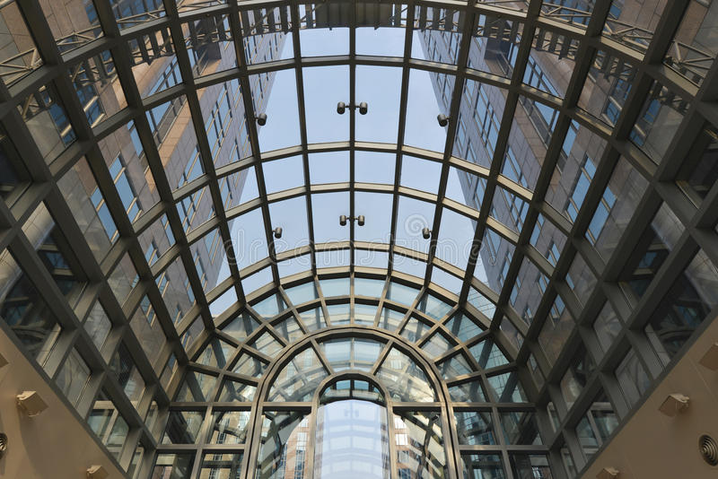 Download Skylight And Modern  Building Stock Photo - Image: 27986958