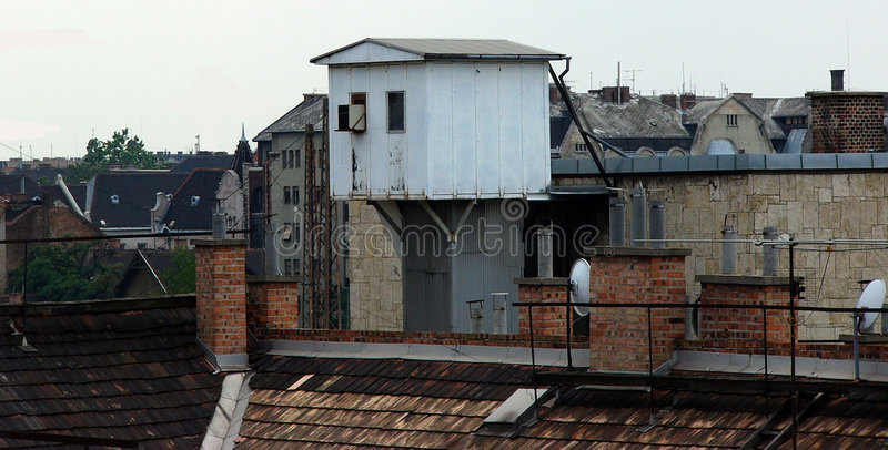 Download Skyline 1 stock image. Image of area, downtown, view, chimney - 14923