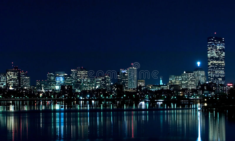 Skyline 1 de Boston fotos de stock royalty free