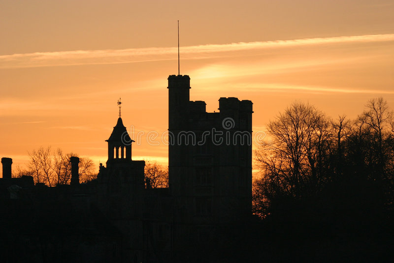 Skyline 1 de Dorset foto de stock