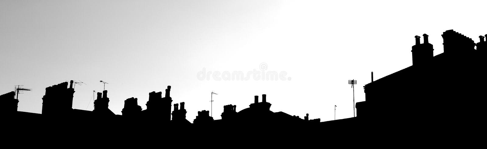 Skyline #1 de Londres foto de stock royalty free