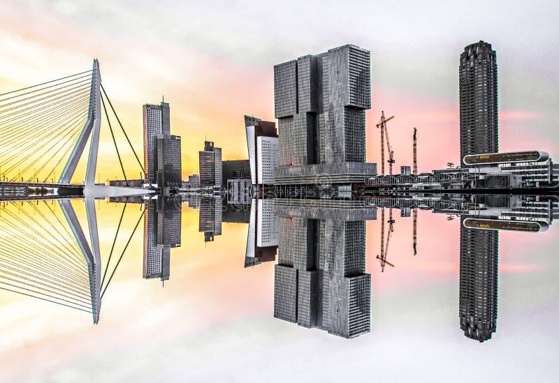Skyline foto de stock royalty free