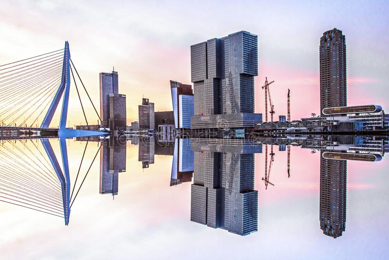 Skyline imagem de stock royalty free