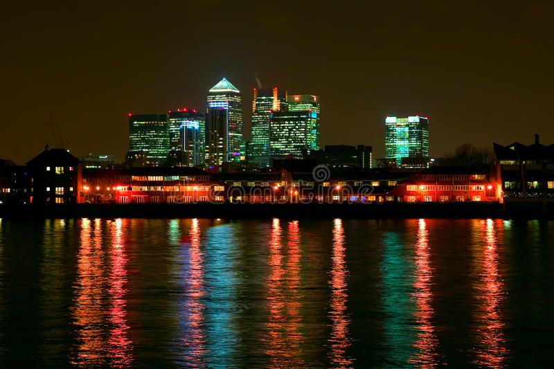 Skyline. Of City of London stock images