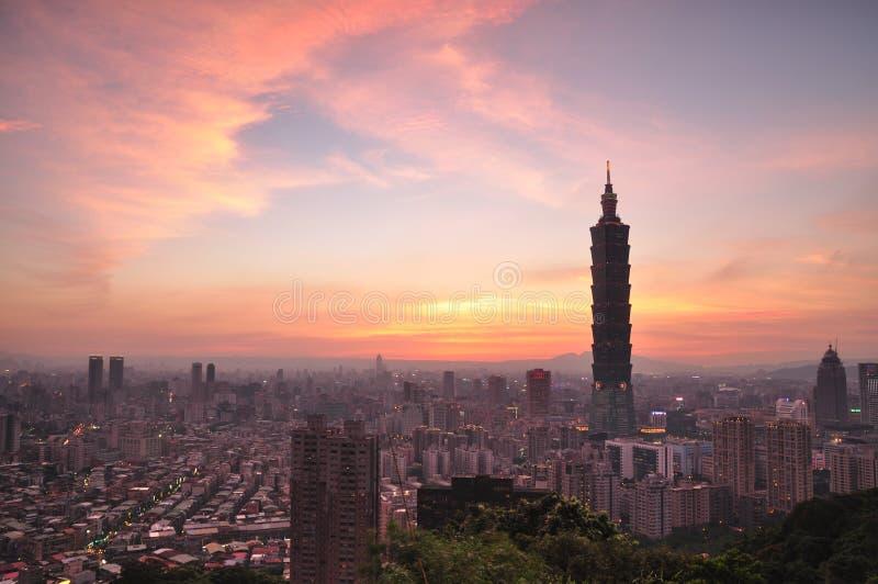 Skyline imagem de stock