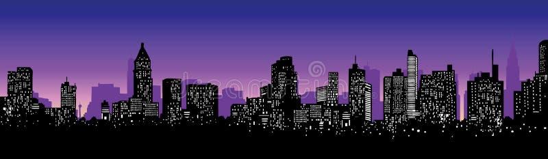 Skyline royalty free illustration