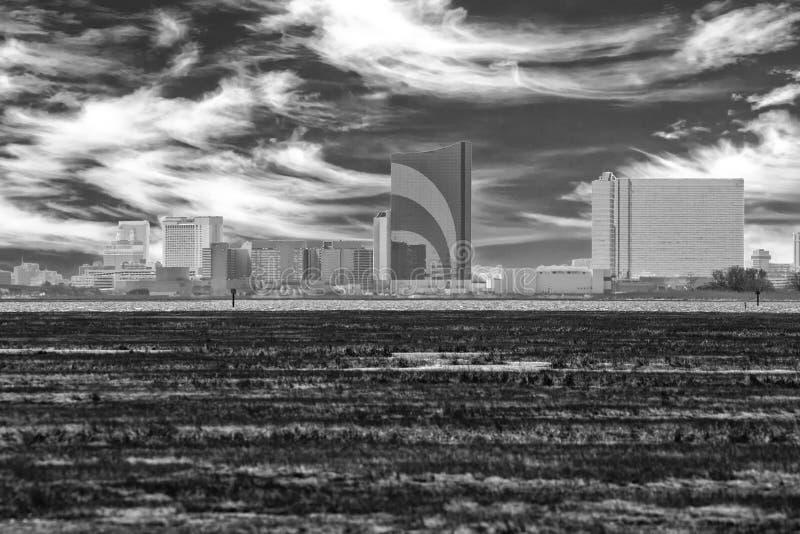 A skyline fotografia de stock