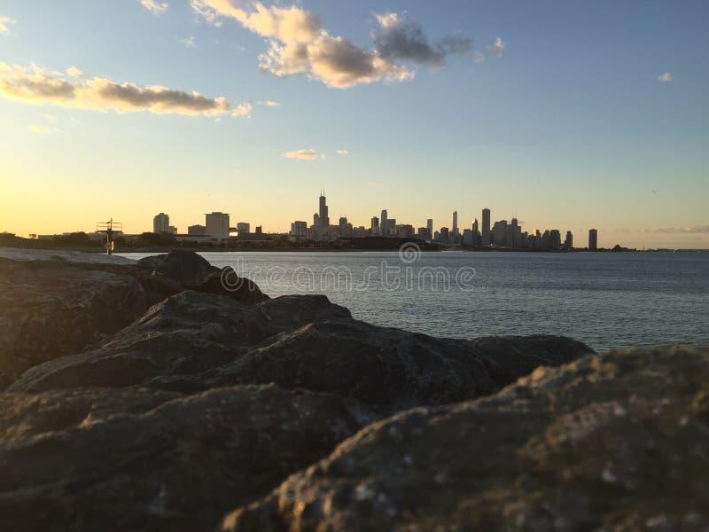 Skyline stockbilder
