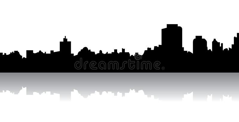 Skyline ilustração stock