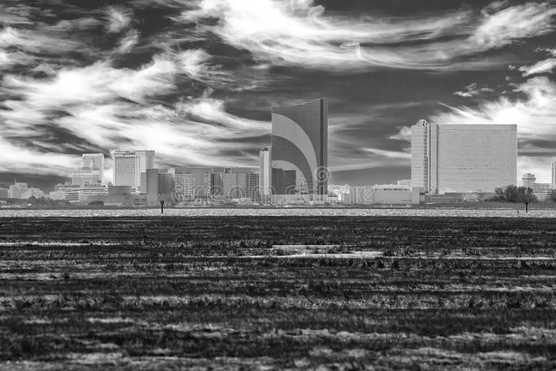 The Skyline. Of the Atlantic City, New Jersey stock photography